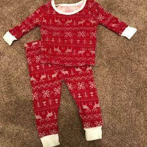 Fair Isle pajama set